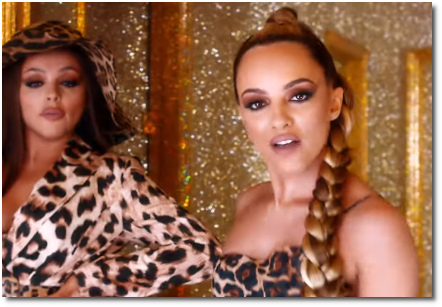 Jade's piercing eyes in Bounce Back when singing 'However do you want me; however do you need me.' (14 June 2019)