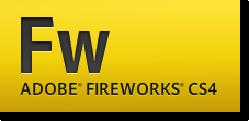 Adobe Fireworks CS4 logo PNG-24
