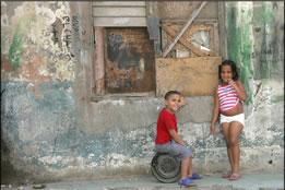 Cuban kids in Havana