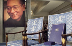 Liu Xiaobo Nobel Peace Prize Empty Chair