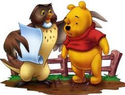 Pooh & Owl read