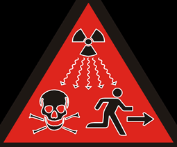 Danger! Radiation Run!