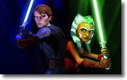 Anakin Skywalker & Ahsoka Tano