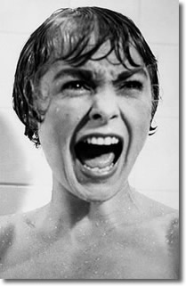 Shower scene from Hitchcock's 'Psycho'