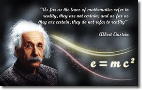 Einstein on Reality vs Certainty