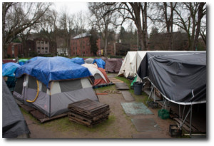 Homeless Camp in Seattle