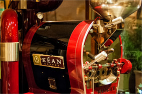 Coffee Roaster at Kean Coffee in Newport Beach