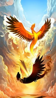 Phoenix Rising above death
