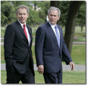 Dumb and Dumber | Blair and Bush