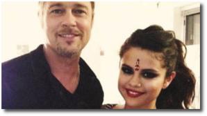 Brad and Selena together again