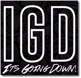 Its Going Down logo