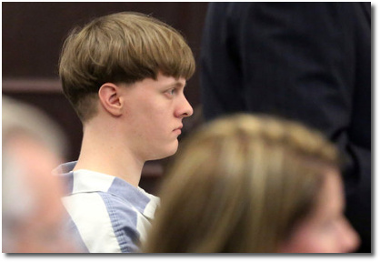 Dylann Roof (23) pleads guilty to murdering 9 worshipers as they prayed in their church sanctuary in Charleston