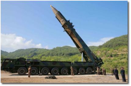 Hwasong-14 North Korea's intercontinental ballistic missile
