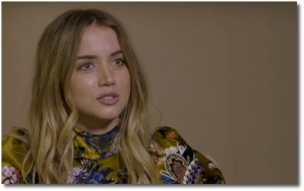 Ana de Armas knows what it feels like to want to punch somebody in the face