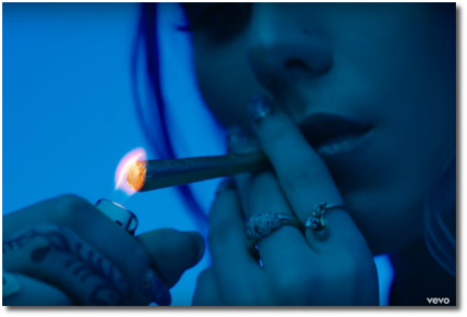 Jaira Burns | Burn Slow - lighting a joint