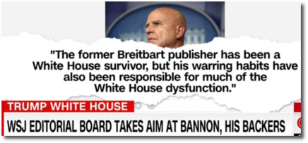 The Wall Street Journal goes after Bannon