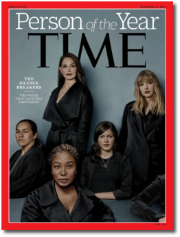 Time Magazine 2017 Person of the Year Silence Breakers