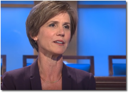 Sally Yates on the rule of law with David Axelrod (26 May 2018)